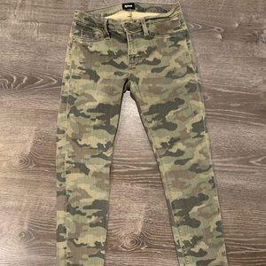 Hudson Camoflauge Jeans size 27